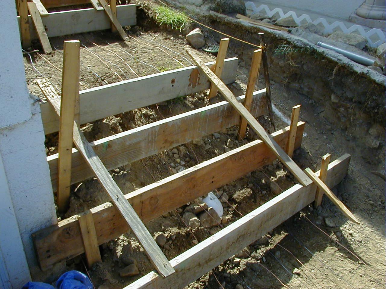 Сделать бетонное крыльцо своими руками